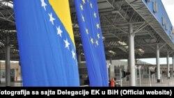 Granični prelaz Bijača između BH i Hrvatske.