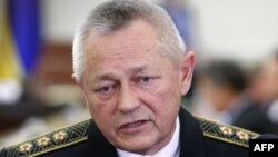 Украина қорғаныс министрі болған Игорь Тенюх. Киев, 16 наурыз 2014 жыл.