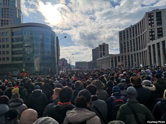 Митинг за свободу интернета в Москве, 10 марта 2019 года