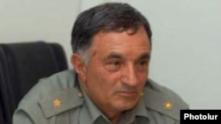 Armenia -- Retired General Arkady Ter-Tadevosian.