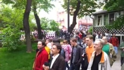 Scenes Of The Opposition 'Stroll' In Moscow