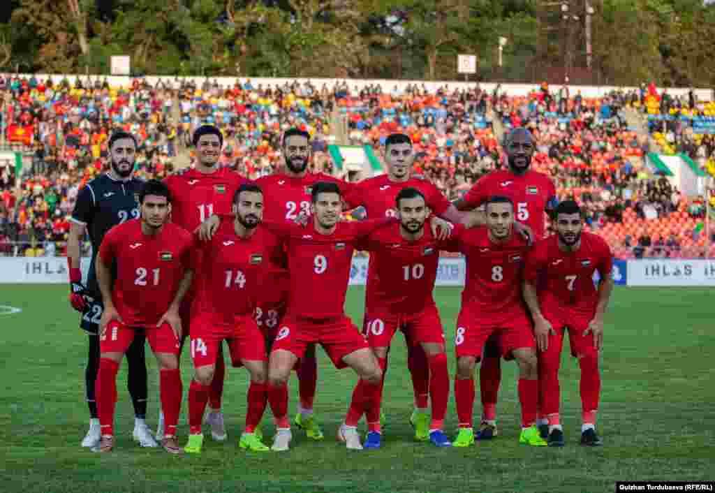 Команда Палестины.