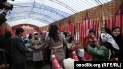 Свадьба жителей Маргилана.