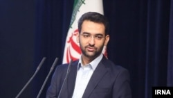 Iran -- Mohammadjavad Azari Jahromi, Iranian minister of ICT in Hassan Rouhani's cabinet.