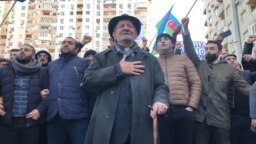 grab Protest Rally In Baku