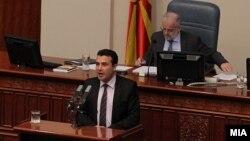Премиерот Зоран Заев во Собранието на РМ