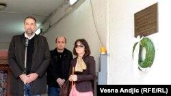 Vukašin Obradović i Ljiljana Smajlović, sećanje na Slavka Ćuruviju, 11. april 2013.