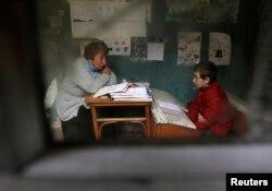 Школа у селі Макарта, де навчається один учень, Грузія, 2013 рік