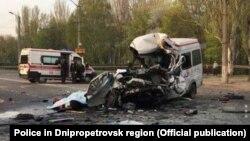 Жертвами аварії стали щонайменше вісім людей