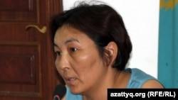 Гражданская активистка Айжангуль Амирова, удостоенная премии «Свобода».