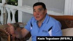 Журналист и руководитель организации «Журналисты в беде» Рамазан Есергепов. Алматы, 29 июня 2016 года.