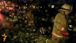 Hurricane Sandy Causes Flooding, Damage