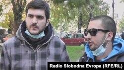 Енис Шкријељ и Душко Илиевски
