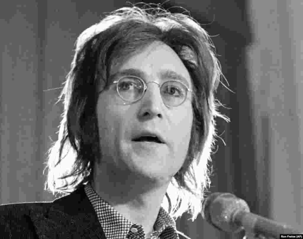 John Lennon in New York, May 12, 1972.