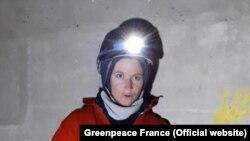 Активисты Greenpeace на АЭС Крюа во Франции. 28 ноября 2017 года.