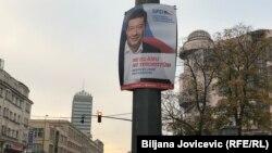 Preizborni plakat SPD-a Tomija Okamure