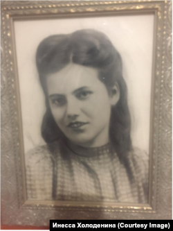 Мария в молодости