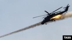Російський транспортно-бойовий вертоліт Мі-35