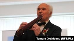 Compozitorul Eugen Doga, la aniversarea de 80 de ani,. 1 martie 2017