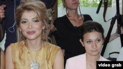 Старшая дочь президента Узбекистана Гульнара Каримова и ее доверенное лицо Гаянэ Авакян (справа).