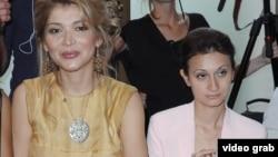 Гүлнара Каримова мен Гаяне Авакян.