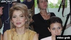 Гульнара Каримова со своим деловым партнером Гайяне Авакян (справа).