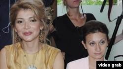 Гүлнара Каримова (сол жақта) мен Гаяне Авакян.