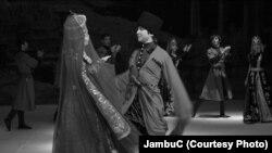"""Бишкектеги """"Лезгинка"""" кароосунан көрүнүш"""