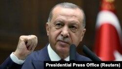 Президент Турции Реджеп Тайип Эрдоган (архив)