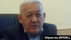 Райымбек Жолдас, руководитель центра адаптации и реабилитации бывших заключенных в Шымкенте. 14 марта 2016 года.