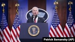 Претседателот на Соединетите Американски Држави, Џо Бајден