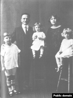 Семья Менухин в Сан-Франциско. 1924 год