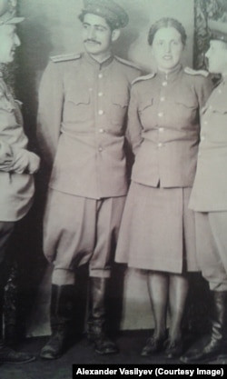 Советские военнослужащие, 40-е годы