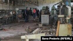 Protest radnika fabrike Košuta, 27.4.2012.