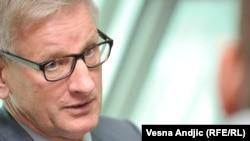 Swedish politician and vocal Kremlin critic Carl Bildt
