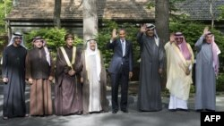 أوباما يتوسط ممثلي دول الخليج في كامب ديفيد