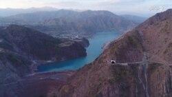 فعال شدن دومین توربین در بند برق راغون تاجکستان
