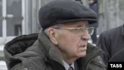 Ветеран Иван Мартынушкин, участник освобождения Освенцима. Краков, 27 января 2005 года.