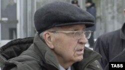 Освенцимді азат етушілердің бірі Иван Мартынушкин. Краков, 27 қаңтар 2005 жыл.