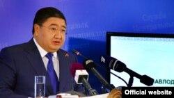 Ерлан Арын, в бытность акимом Павлодарской области. Астана, 4 октября 2013 года.