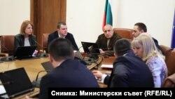 Извънредното заседание на Министерския съвет се проведе съвместно с кметовете на София и Перник