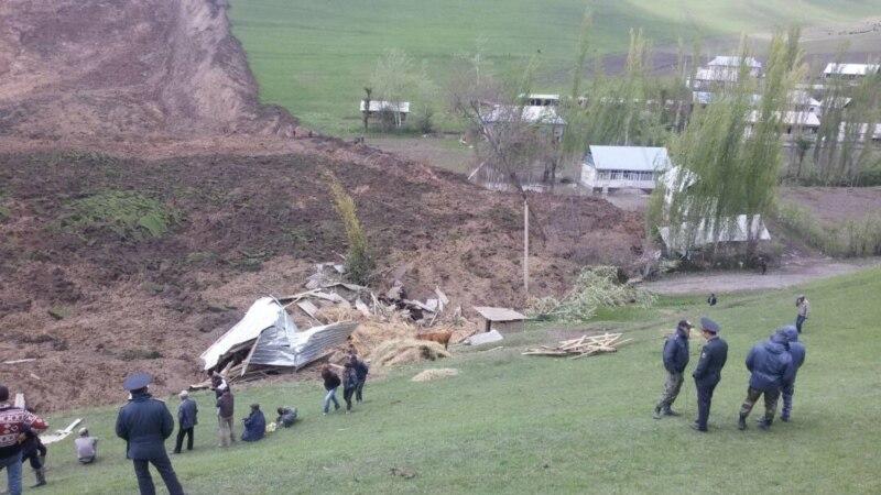У Киргизстані жалоба за загиблими внаслідок зсуву