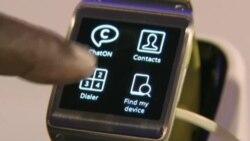 """Samsung ilk """"ağıllı"""" saatını təqdim edir (Rus dilində)"""