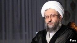 Ayatollah Sadegh Amoli Larijani head of Iran's Judiciary. File photo