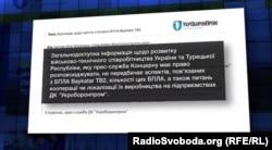 Відповідь «Укроборонпрому» на запит Донбас.Реалії