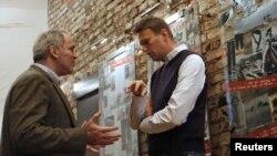 Алексей Навальный и Гарри Каспаров