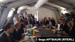 Сегодняшние переговоры в Эргнети стали продолжением неоконченной, 85-й встречи в рамках механизма по предотвращению и реагированию на инциденты