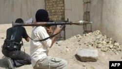 اعضای سپاه مهدی که حمایت مستقیم ایران را دارد در بصره عراق (عکس تزیینی است)