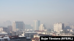 Ndotja e ajrit në Prishtinë