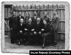 Сям'я Ісака Ляўкова ў Смаргонях, 1939 год